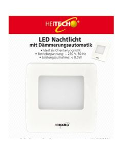 HEITECH LED NIGHT LIGHT WITH TWILIGHT AUTOMATIC HEI002281