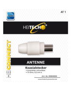 <p> HEITECH COAXIAL PLUG</p> HEI004000