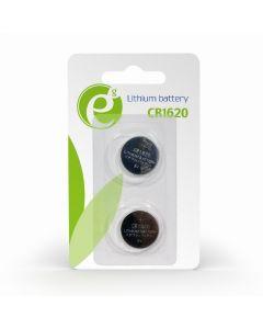 ENERGENIE BUTTON CELL CR1620 2-PACK EG-BA-CR1620-01