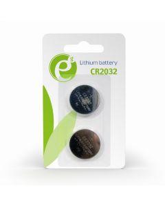 ENERGENIE BUTTON CELL CR2032 2-PACK EG-BA-CR2032-01