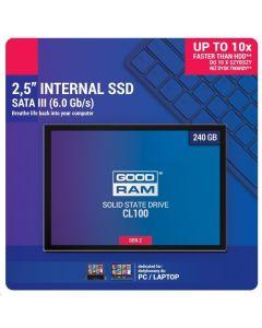 GOODRAM SSD CL100 GEN2 240GB SATA III 2,5