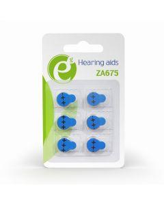 <p> ENERGENIE BUTTON CELL ZA675 6-PACK</p> EG-BA-ZA675-01
