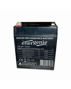 ENERGENIE LEAD BATTERY FOR UPS 12V 5 AH BAT-12V5AH