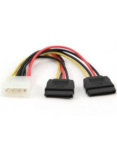 CABLEXPERT 2 x SERIAL ATA 30CM POWER CABLE CC-SATA-PSY-0.3M