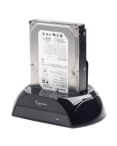 GEMBIRD USB3.0 DOCKING STATION FOR SATA DARD DRIVES BLACK HD32-U3S-2
