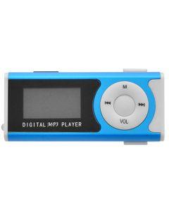 LAMTECH DIGITAL MP3 PLAYER 16GB WITH FM RADIO BLUE LAM020120