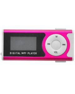 LAMTECH DIGITAL MP3 PLAYER 16GB WITH FM RADIO FUCHSIA LAM020137