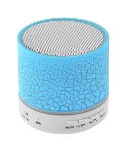 LAMTECH BLUETOOTH SPEAKER LED LIGHT WITH FM BLUE LAM020243