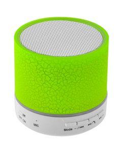 LAMTECH BLUETOOTH SPEAKER LED LIGHT WITH FM GREEN LAM020267