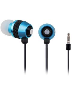 GEMBIRD METAL EARPHONES WITH MICROPHONE AND VOLUME CONTROL MHS-EP-002