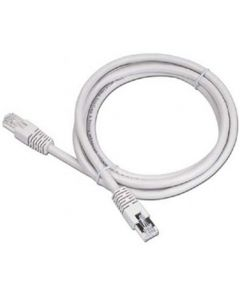 CABLEXPERT PATCH CORD CAT 5E MOLDED STRAIN RELIEF 50U'' PLUGS GREY 2M PP12-2M