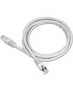 CABLEXPERT CAT5 UTP PATCH CORD MOLDED STRAIN RELIEF 50u PLUGS GREY 3M PP12-3M