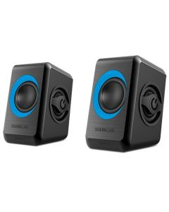SONIC GEARS USB POWERED QUAD BASS SPEAKERS 2,0 BLACK TURQUILA QUATRO2BT