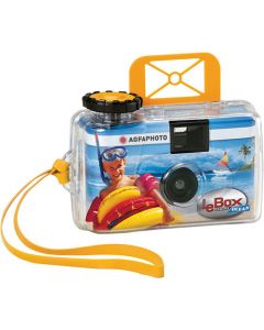 AGFA SINGLE USE CAMERA LE BOX OCEAN WATERPROOF AGFAOCEAN