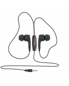 SBOX EARPHONES WITH MICROPHONE BLACK EP-791B