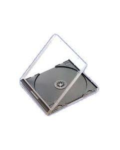 CD BOX JEWEL CASE ΜΑΥΡΟ BOX9016
