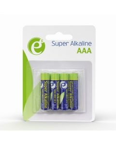 ENERGENIE ALKALINE AAA BATTERIES 4-PACK EG-BA-AAA4-01