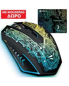 ALCATROZ GAMING MOUSE X-CRAFT TRON 5000 XCRAFT5000