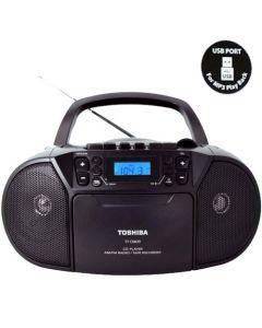 TOSHIBA AUDIO CD/USB/RADIO CASSETTE RECORDER TY-CKU39