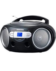 TOSHIBA AUDIO PORTABLE CD BOOMBOX BLACK TY-CRS9-BLK