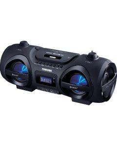 TOSHIBA AUDIO PORTABLE CD/MP3/USB/SD BLUETOOTH BOOMBOX BLACK TY-CWU500
