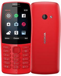Κινητό Τηλέφωνο Nokia 210 Dual Sim Red 574584