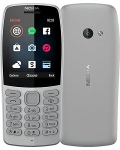 Κινητό Τηλέφωνο Nokia 210 Dual Sim Grey 574583
