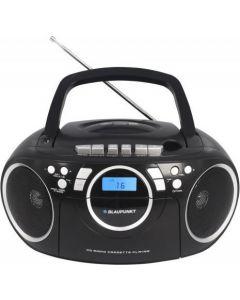 Boombox FM PLL, cassette CD/MP3/USB/AUX BB16BK Blaupunkt