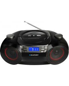 Boombox Bluetooth FM/CD/MP3/USB/SD Clock with alarm, 12 Watt RMS BB30BT Blaupunkt