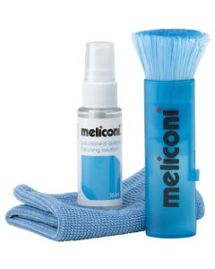 MELICONI C-35P 35ml SOLUTION + MICROFIBER CLOTH + BRUSH 070-0265
