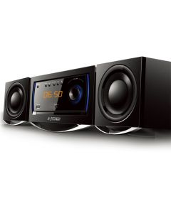 NOD MHS-001BL Mini Hi-Fi System with CD,USB, bluetooth and Blue LED 141-0069