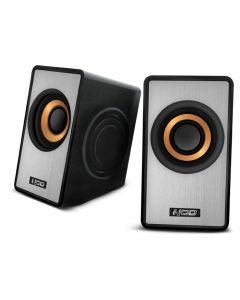 NOD SideFX SPK-003 Speaker 2.0 2x3W,black/silver 141-0076