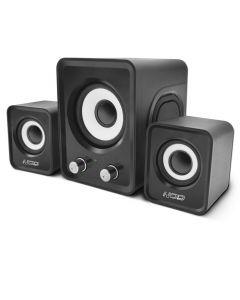 NOD Base.2.One SPK-010 Speaker 2.1 2x3W,black 141-0077