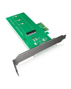 ICY BOX IB-PCI208 PCI-Card, M.2 PCIe SSD to PCIe 3.0 x4 Host   60092 146-0241