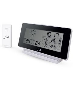 LIFE WES-200 Weather station with wireless outdoor sensor,clock& alarm function 221-0008