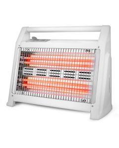 LIFE Q-HEATΗλεκτρική θερμάστρα χαλαζία 1200W 4 λάμπες, ανεμιστήρα και υγραντήρα 221-0127
