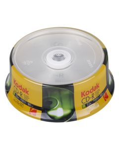 KODAK CD-R 25-Pack 52x 700MB 223-0001