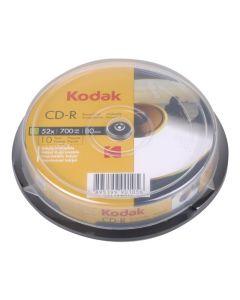 KODAK CD-R Printable 10-Pack 52x 700MB 223-0002