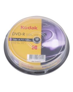 KODAK DVD-R 10-Pack 16x 4.7GB 223-0003
