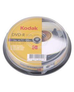 KODAK DVD-R Printable 10-Pack 16x 4.7GB 223-0005
