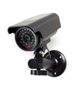 NEDIS DUMCBS10BK Dummy Security Camera, Bullet, IP44, Black 233-0090