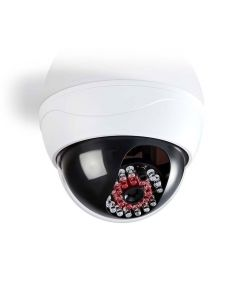 NEDIS DUMCD20WT Dummy Security Camera, Dome, IP44, White 233-0106