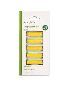 NEDIS VCFS110LEM Vacuum Cleaner Fragrance Sticks, Lemon, 5 pieces 233-0164