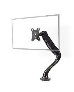 NEDIS MMNTSI100BK Desk Monitor Mount Single Monitor Arm Full Motion 10-32