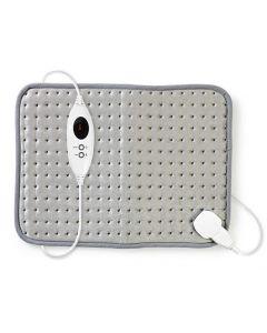 NEDIS PEHP110CGY Heating Pad 42 x 32 cm 6-Heat Settings Digital Control Overheat 233-0468