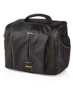 NEDIS CBAG220BK Camera Shoulder Bag 250 x 210 x 170 mm 3 Inside pockets Black/Or 233-0603