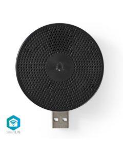 NEDIS WIFICDPC10BK Wireless Door Chime Accessory for WIFICDP10GY USB 233-0947