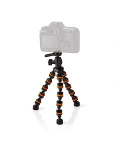 NEDIS GPOD3200BK Mini Tripod Max 1 kg 26.0 cm Flexible Black/Orange 233-0983