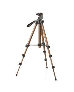 NEDIS TPOD2000BZ Tripod Pan & Tilt Max 1.5 kg 105 cm Black/Silver 233-1078