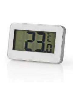NEDIS KATH101WT Fridge Thermometer -20 - +50 °C Digital Display 233-1144